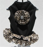 Black Leopard Tank Dress