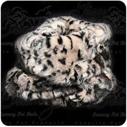 Leopard Faux Fur Trundle Bed