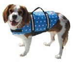 BOAT BOY BLUE POLKA DOT LIFE JACKET